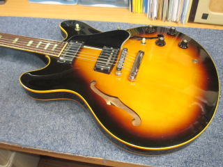 Gibson ES-335TD,NINTH(ナインス),ギターリペア,ギター修理