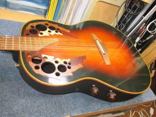 Ovation.オベーション,ギター,修理,リペア