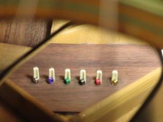 ブリッジプレート補強 ギターリペア