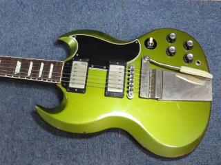 Gibson Custom Shop SG Standard Aged Pelham Blue