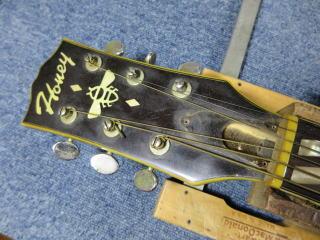 HONEY、ギター修理