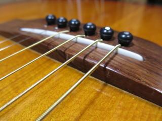 サドル調整、弦高調整