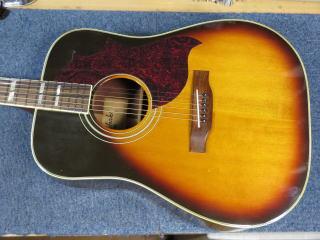 CHAKI W-50、ギター修理