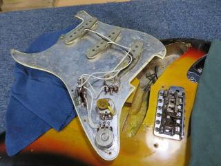 Fender Stratocaster、リペア