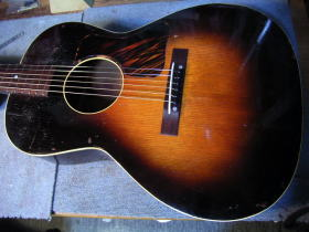 Gibson L-00、リペア、修理