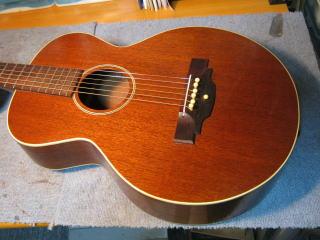 Gibson L-0、リペア、修理