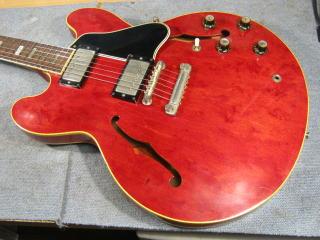 ギブソンES-335、リペア、修理