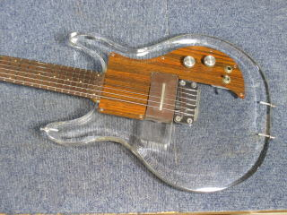 Ampeg Crystal Guitar