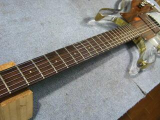 Ampeg Crystal Guitar、リペア、修理