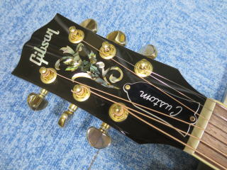 Gibson J-45 Custom、リペア、修理、ナインス、NINTH