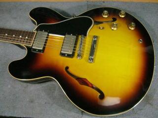 Gibson ES-335,フレット交換