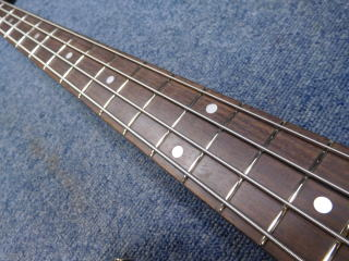 Fender Jazz Bass、フレット交換