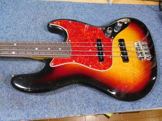 Fender Jazz Bass、フレット・ナット交換