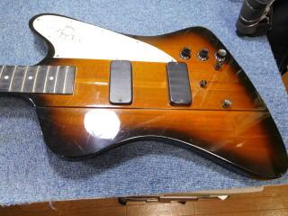 Gibson Thunderbird 、リペア、修理