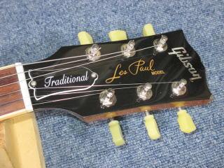 Gibson Les Paul、ネック折れ