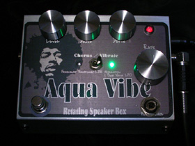 Aqua Vibe -Rotating Speaker Box