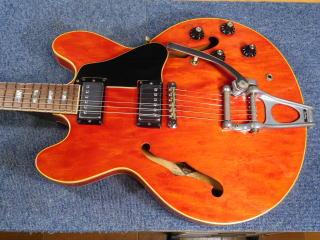 Gibson ES-335、フレット、ナット交換
