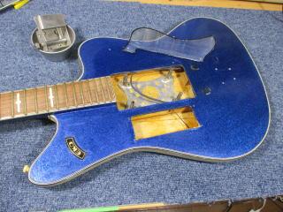 Eko Ekomaster 400-4 Blue Sparkle