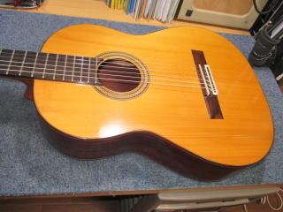 クラシックギター、修理、リペア