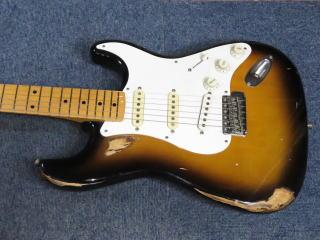 Fender Stratocaster、フレット交換