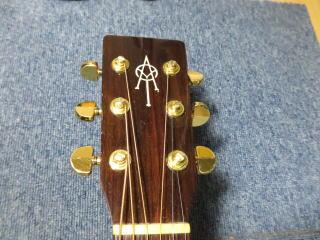 ギターリペア、K.Yairi Alvarez YF-40
