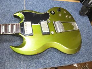 Gibson SG,リペア,修理