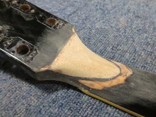 ネック折れ、修理