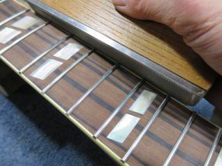 フレット処理、ギターリペア