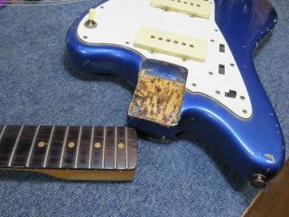Fender Jazzmaster,リペア