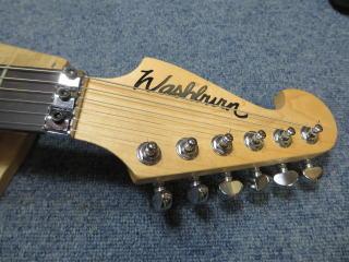 Washburn N4、ピックアップ交換