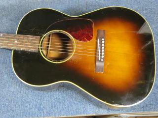 Gibson LG-2、修理、ナインス、東京、リペア、メンテナンス
