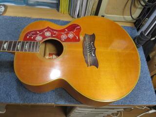 Gibson J-200、ギター修理、リペア