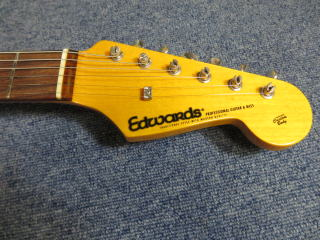 Edwards Stratocaster,フレット摺合せ