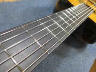 クラシックギター、フレット