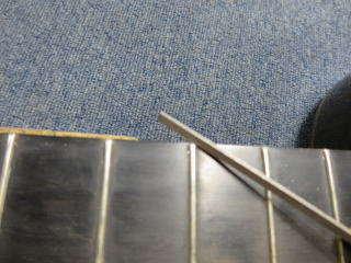 クラシックギター、フレットバリ