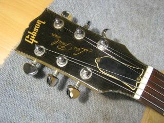 Gibson Les Paul Junior,ネック折れ,ナット交換