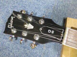 Gibson SG、リペア