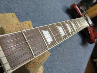 Gibson SG、ネック調整