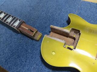 Gibson Les Paul、ネック外し,ネックリセット