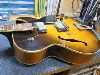 Gibson ES-175、修理、リペア