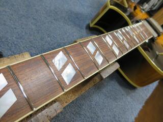 Gibson ES-175、ネック修理、リペア