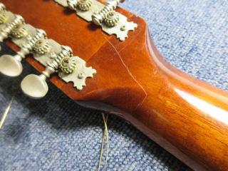 12弦ギター、ネック折れ