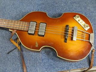 Hofner HCT-500/1 Cavern Bass、リペア、修理
