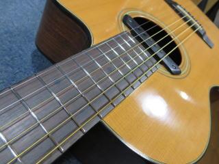 アコーステックギター、フレット交換