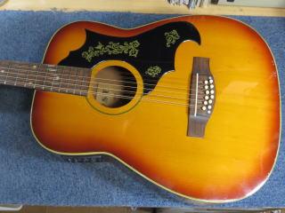12弦ギター、修理、リペア