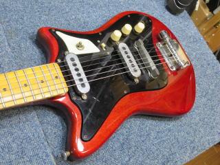 バーンズ・ソニック・ギター、修理、リペア