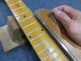 ビザールギター、フレット
