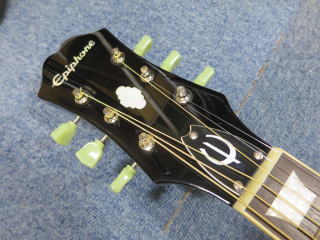 Epiphone John Lennon EJ-160E、ナット交換、リペア、修理