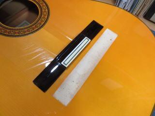 ブリッジ剥がれ、ギター、リペア、修理