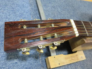Washburn Parlor Guitar、ヘッド